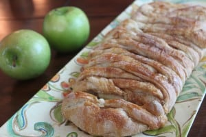 Caramel Apple Cinnamon Braid