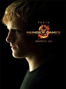 Hunger Games Poster - Peeta