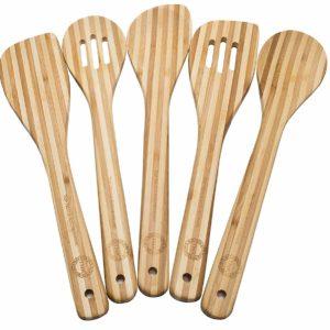 Bamboo 5 Piece Utensil Set