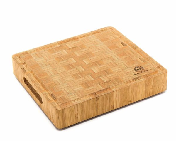 Bamboo Butcher Block Cutting Board