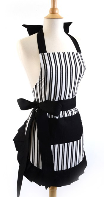 Black-White-Vertical-Stripe-Apron