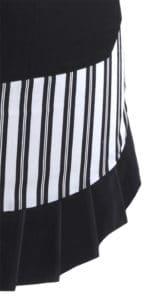 Black-White-Vertical-Stripe-Apron-Close