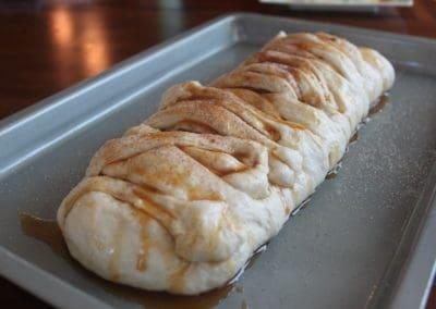 Caramel Apple Cinnamon Braid Dough