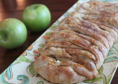Caramel Apple Cinnamon Braid Finished