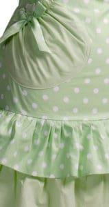 Green-Polka-Dot-Ruffle-Apron-Close