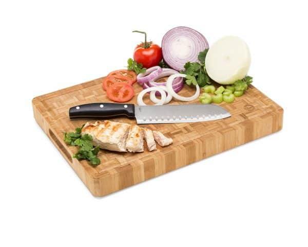 Large Bamboo Butcher Block Cutting Board-2