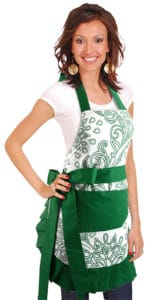 Leafy-Green-Woman-Model