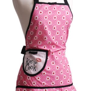 Pink-Flower-Kiss-the-Cook-Apron-Back