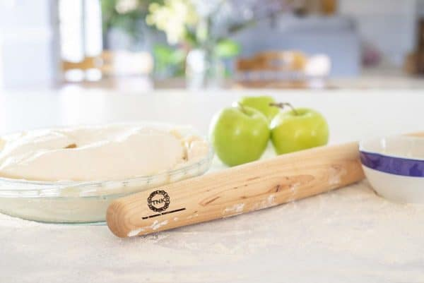 Sugar Maple French Style Rolling Pin Pie-1