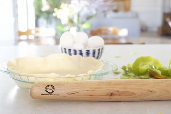 Sugar Maple French Style Rolling Pin Pie-2