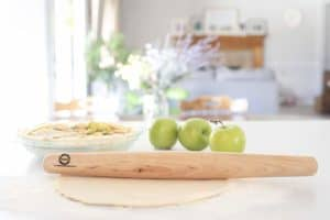 Sugar Maple French Style Rolling Pin Pie-3