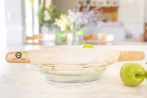 Sugar Maple French Style Rolling Pin Pie-4