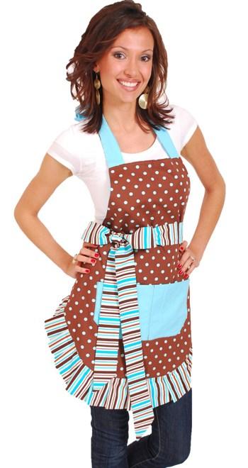 brown-sky-blue-polka-dot-model