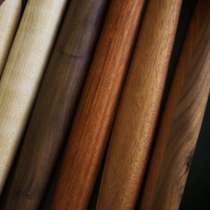 mahogany french style rolling pins