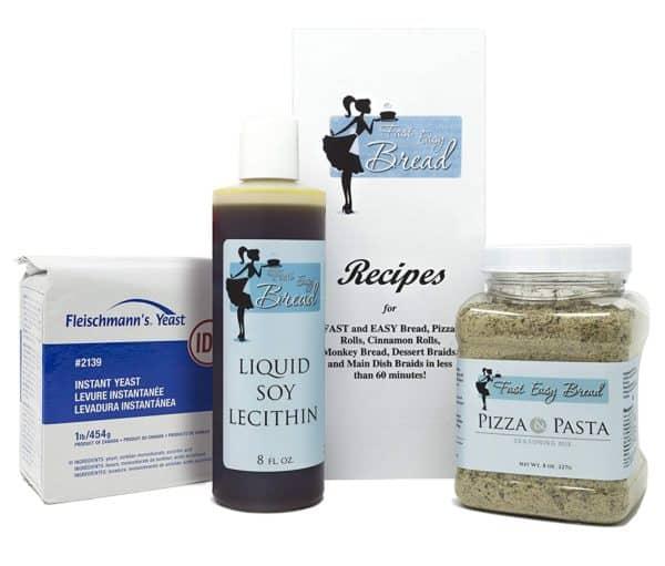 Fleischmann Instant Dry Yeast Soy Lecithin Pizza Sauce PizzaBundle